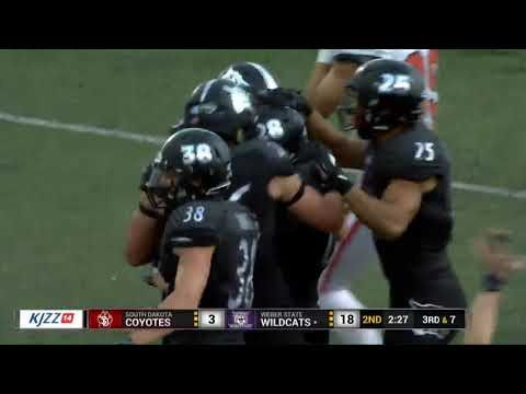 Weber State football vs. South Dakota - 9/15/18