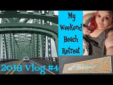 2018 Vlog #4 - My Weekend Beach Retreat