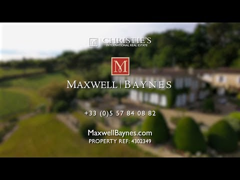 Remarkable Hobby vineyard for sale exclusively with Maxwell-Baynes Christie's Vineyards  ref 4302349