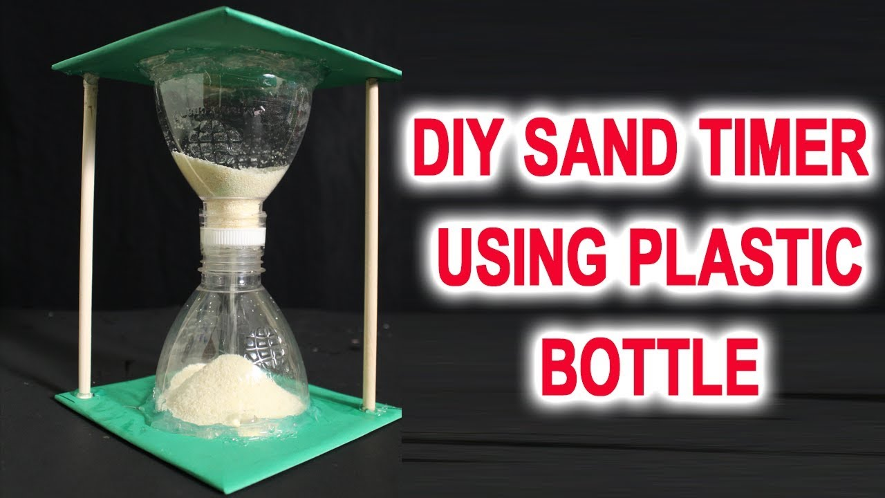The Perfect 1 Minute Sand Timer Diy Crafts