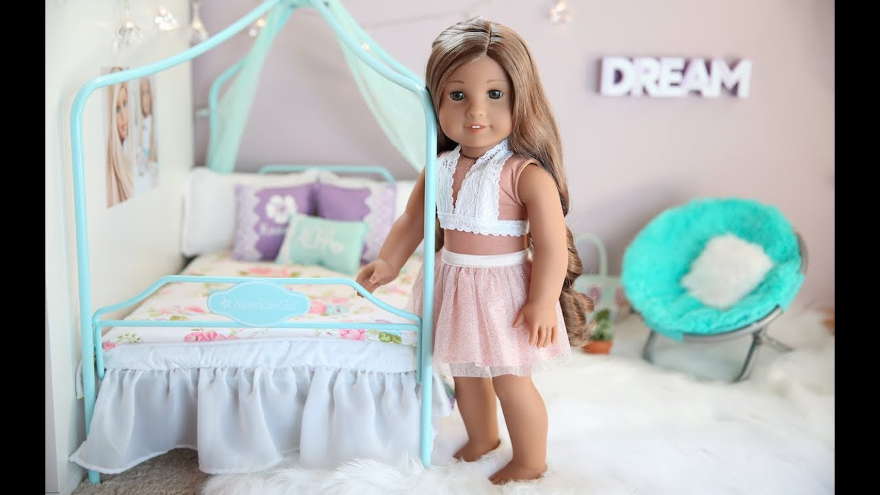 American Girl Doll Kanani\'s Bedroom! - YouTube