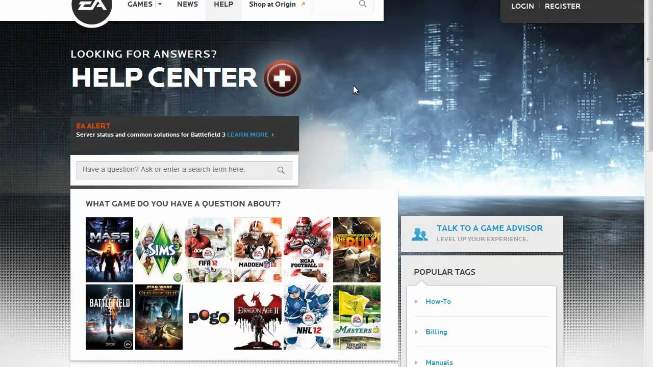 how to find owned games on ea