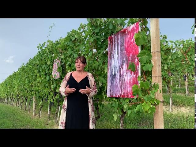 Intervista alla pittrice Daniela Delfina Dell'Orto in occasione della mostra
