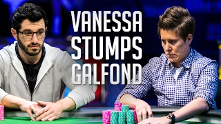 Phil Galfond Is EMBARRASSED To Lose Like This And PERPLEXED By Vanessa Selbst's Play