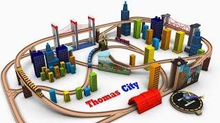 Thomas and Friend - city trains for children - Toy Trains for Kids - chu chu train