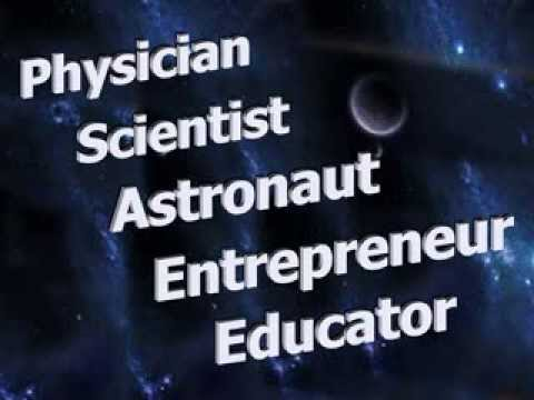 A Stylized PPT Video for Black History Month-Mae Jemison