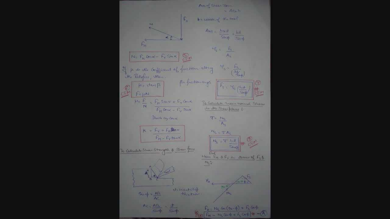 Mechanics of orthogonal metal cutting easy solution of merchant mechanics of orthogonal metal cutting easy solution of merchant analysis merchant circle youtube ccuart Image collections