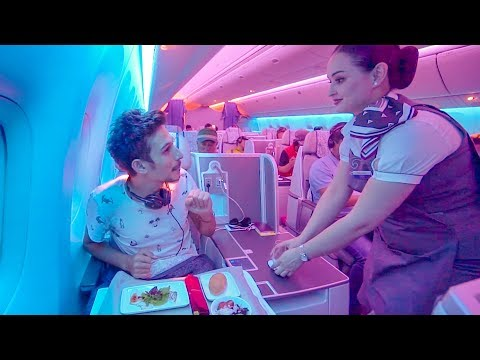 FANTASTİK Business Class VIP Deneyimi 2 - Air Astana Uçak İn