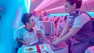 FANTASTİK Business Class VIP Deneyimi 2 - Air Astana Uçak İnceleme thumbnail
