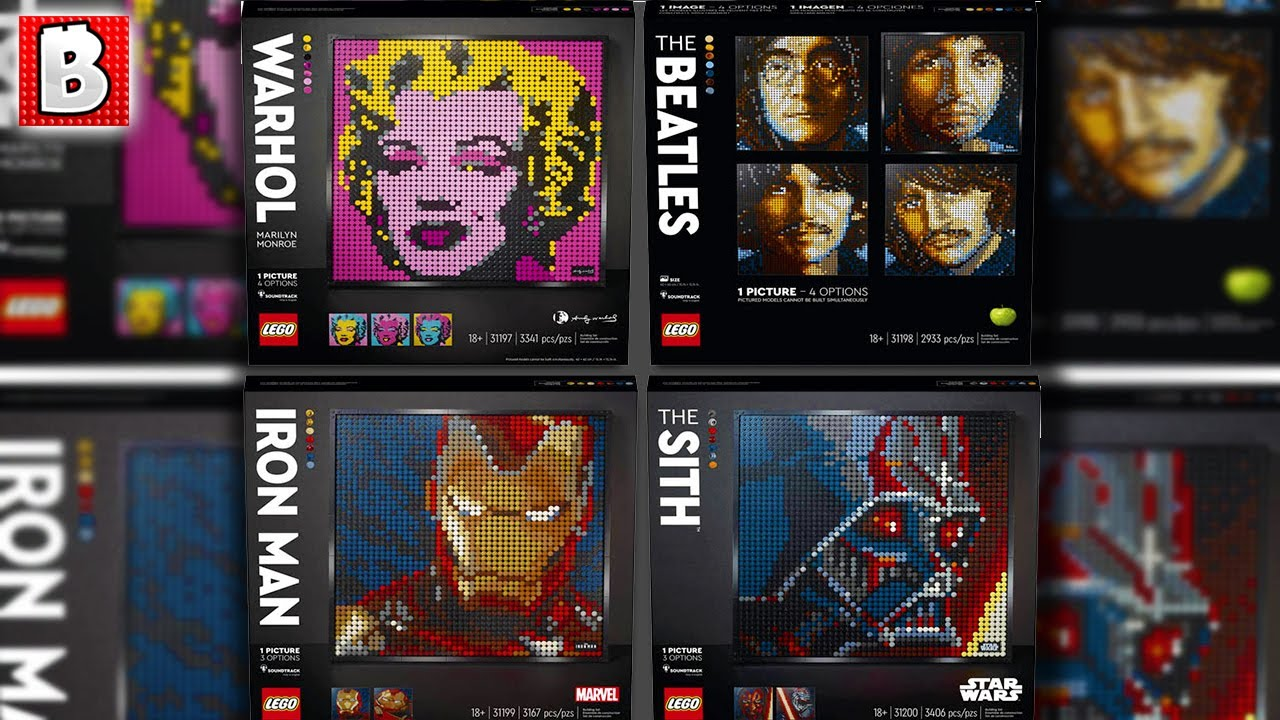 What is LEGO Art Really? | LEGO News