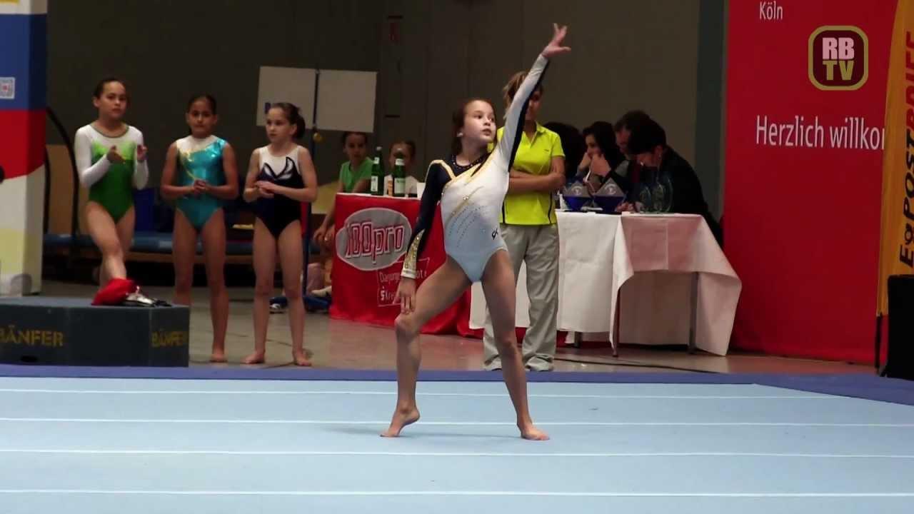 Elvira Yureva Pre Olympic Youth Cup 2012 Kunstturnen Ak 12 13