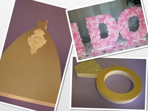 Wedding Styrofoam Letters Decorate With Rose Petals Tutorial By Styroscript