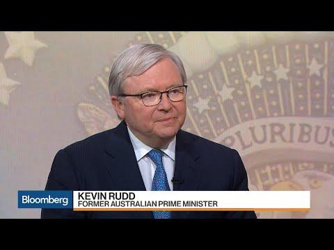 Ex-Australia PM Rudd Isn't Surprised Xi Abolished Term Limits
