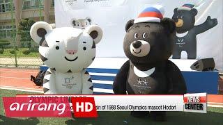 PyeongChang 2018 Winter Olympic mascots Soohorang and Bandabi make debut