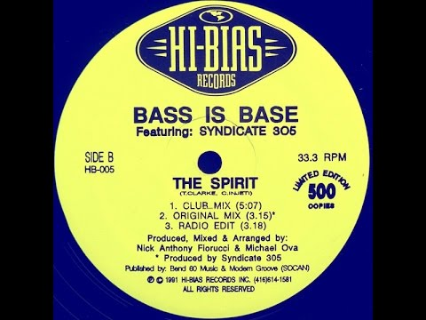 Bass Is Base Featuring Syndicate 305 - The Spirit (Club Mix)