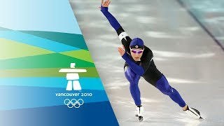 Repeat youtube video Tae-Bum Mo (KOR) Wins 500m Speed Skating Gold - Vancouver 2010 Olympics