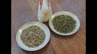 """Копорский чай 🍵 из стебля кипрея (часть 1 """"Опилки""""). Russian tea."""