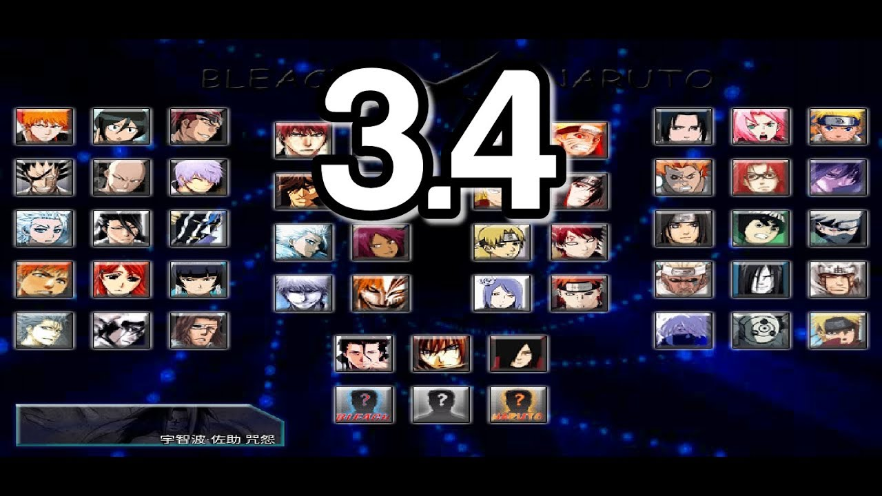 Bleach Vs Naruto 3 4 New Characters New Assists Pc Android Youtube