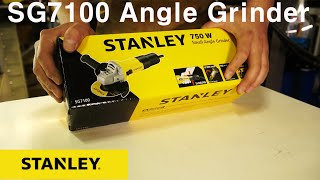 스탠리 그라인더 SG7100직접 사용 후기 .