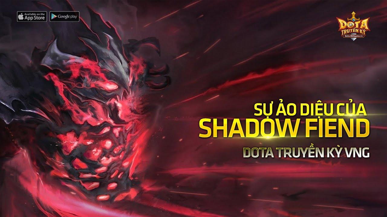 Dota truyền kỳ: Sức mạnh của Soái ca Shadow Fiend khi giới Đỏ