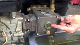 Pressure Washer Water Pump Oil Change