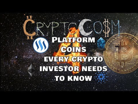 Ep:13 Four Platform Coins Every Crypto Investor needs to know!