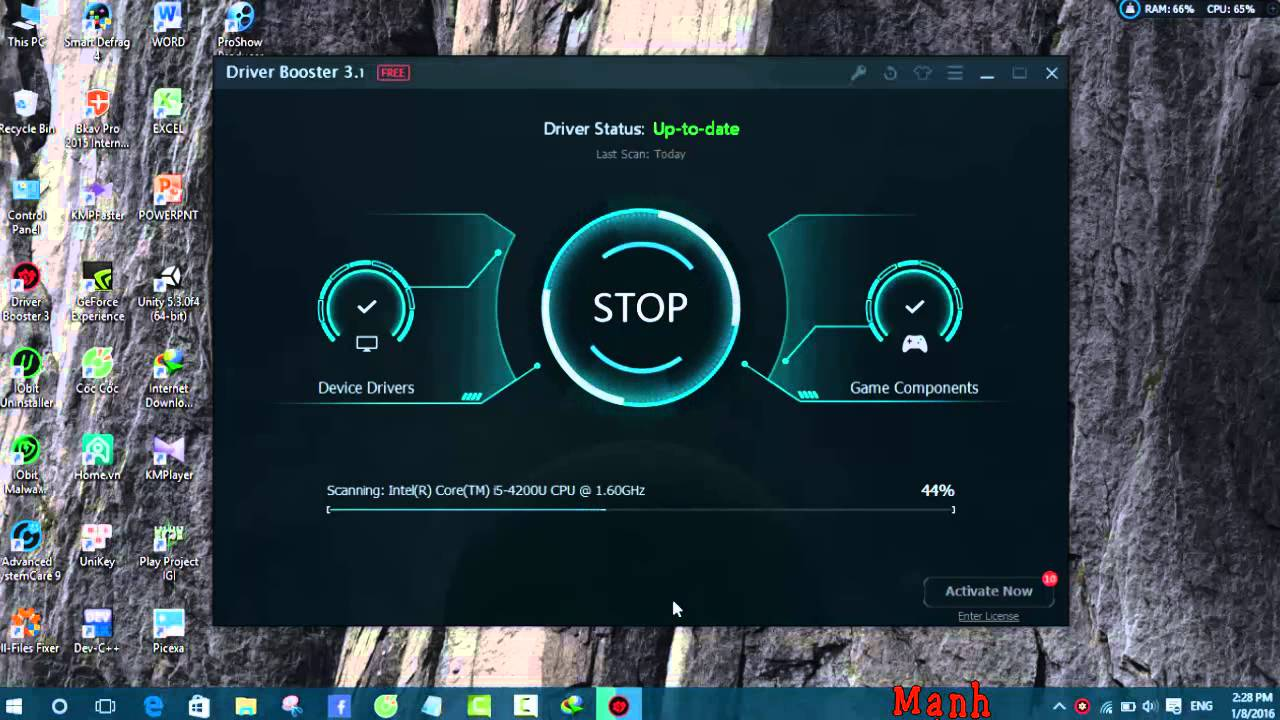 iobit driver booster free download cnet