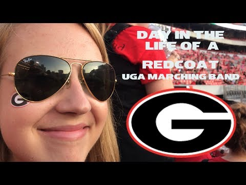 A Day In The Life Of A Redcoat: UGA Marching Band