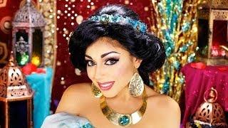 Princess Jasmine Makeup Tutorial! | Charisma Star