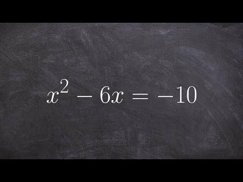 Repeat CSET Math Subtest 1 (1 2bc) Quadratic Complex Roots