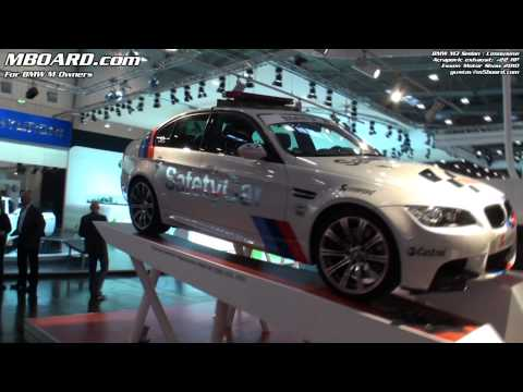 BMW M3 Sedan | Limousine E90 Safety Car with Acropovic Exhaust