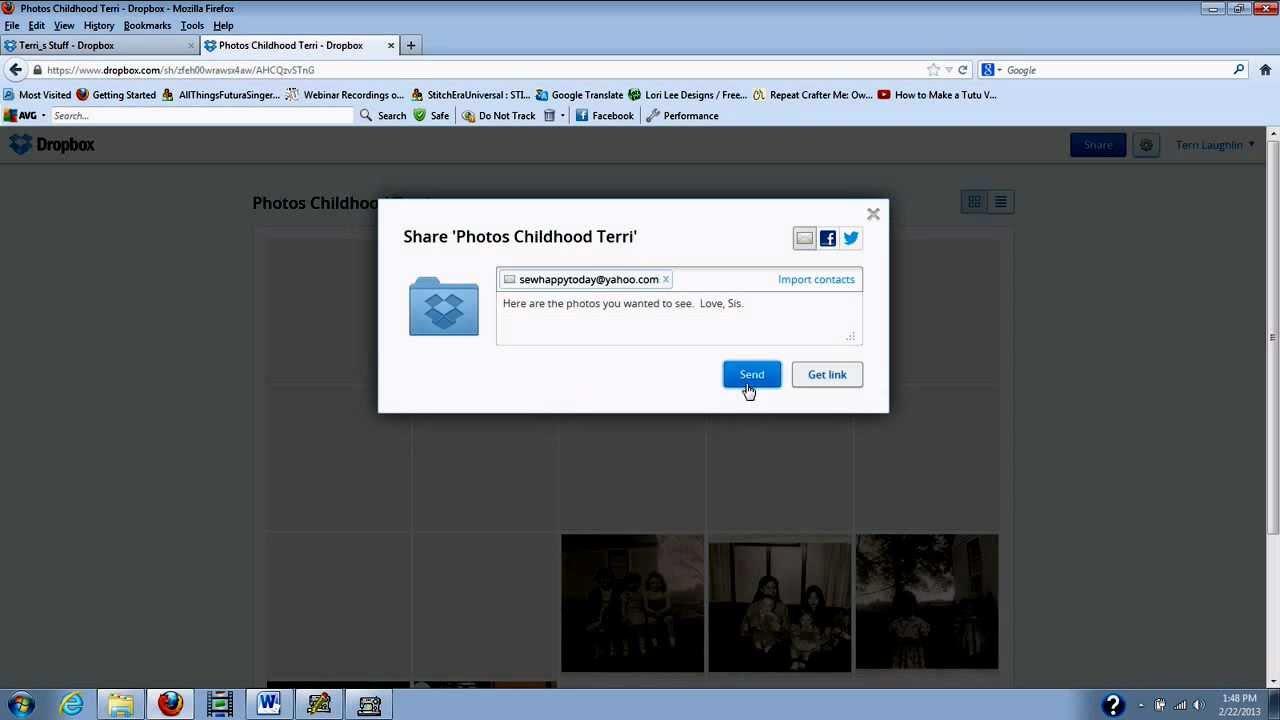 Lihat Cara Membuat Link Dropbox paling mudah