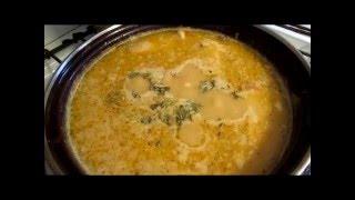 Гороховый Суп с мясом.  Рецепт отличается от стандарта. // Олег Карп