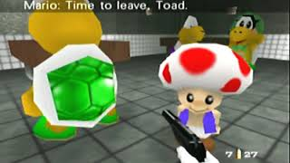 Goldeneye 007 with Mario Characters - 00 Agent