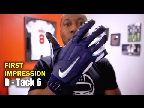 NIKE D-Tack 6 Football Gloves: First Impression