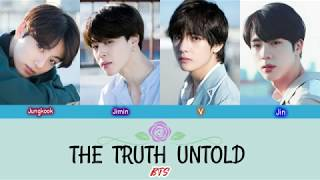 BTS (Vocal Line) - THE TRUTH UNTOLD Feat. Steve Aoki - Color coded lyrics {Han_Rom_Eng}