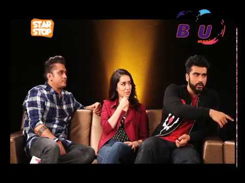 Half Girlfriend - EXCLUSIVE INTERVIEW | Mohit, Shraddha, Arjun | B4U Star Stop