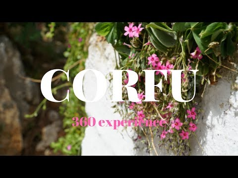 TOP 5 PLACES TO SEE IN CORFU - GREECE in 360!