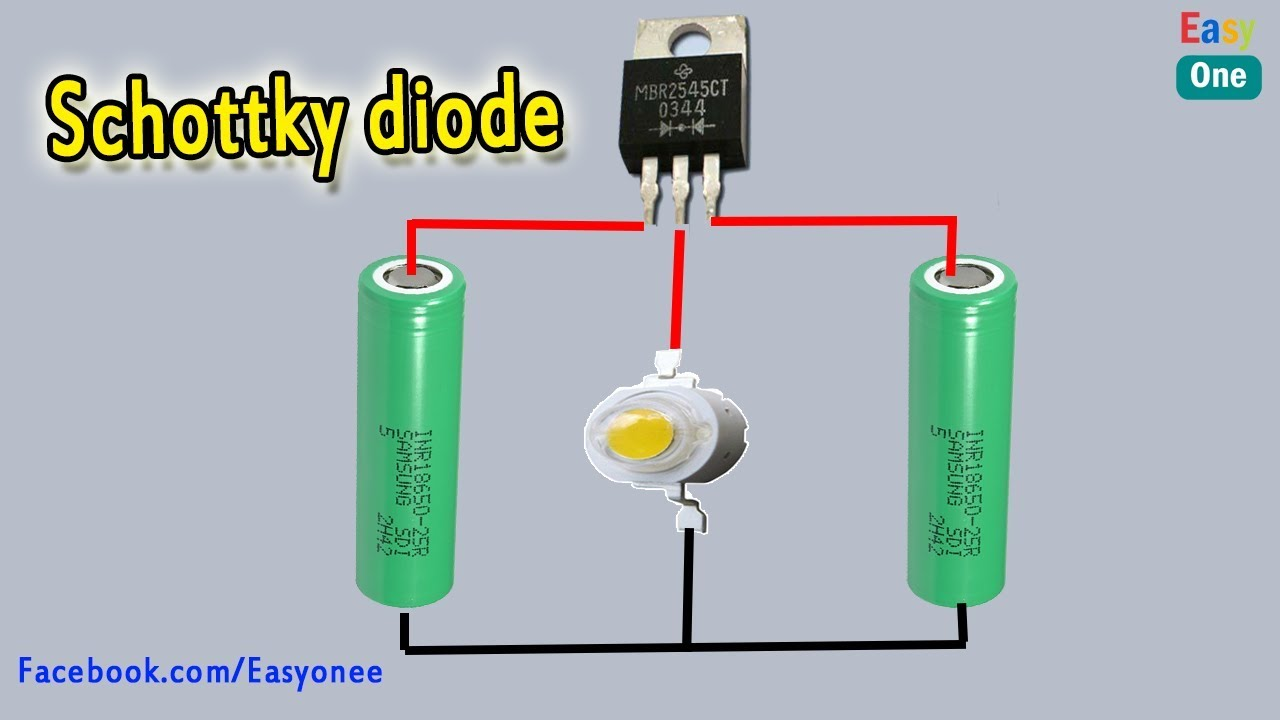 how to connect schottky diode how to test schottky diode [ 1280 x 720 Pixel ]