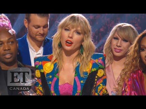 Taylor Swift Calls Out Trump In VMAs Speech