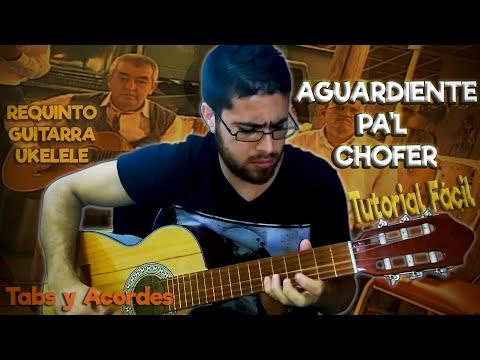 Cómo tocar Aguardiente Pal Chofer en Ukelele, Guitarra y Requinto - Joaquin Bedoya Tutorial