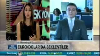 ALB Forex Araştırma Analisti Rıdvan Baştürk, Euro/Dolar paritelerini değerlendiriyor. Bloomberg HT