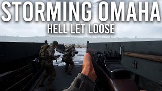 Storming Omaha Beach in Hell let loose
