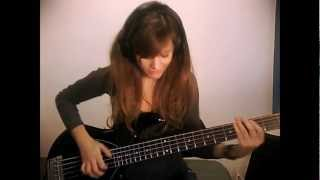 Hi! This is a bass cover of Get On The Floor by Michael Jackson, fr...