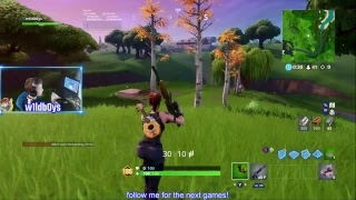 The awesome Fortnite Battle! - Going to get 'em all! Let's go it again! Follow me not to miss the ac
