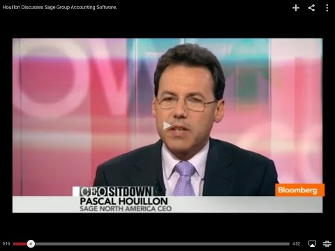 Houillon Discusses Sage Group Accounting Software,