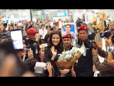 Homecoming | ต้อนรับ มารีญา (Top 5 Miss Universe 2017) เดินทางกลับประเทศไทย