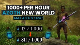 Best Way To Gęt Azoth In New World Fast & Easy! (1000+ Azoth An Hour Guide)