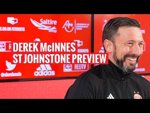 Derek McInnes previews trip to Perth