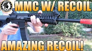 Lancer Tactical MMC w/ Recoil Shooting Test: Chrono/Accuracy/ Damage Test